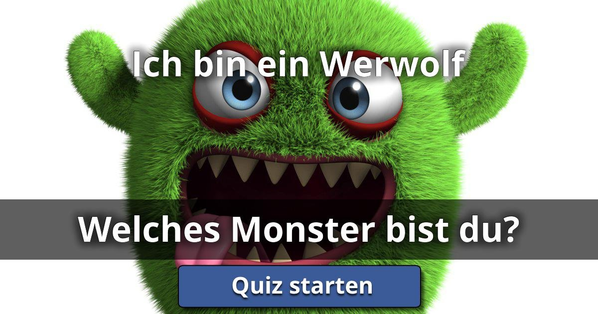 ich bin ein werwolf welches monster bist du lusorlab quizzes. Black Bedroom Furniture Sets. Home Design Ideas