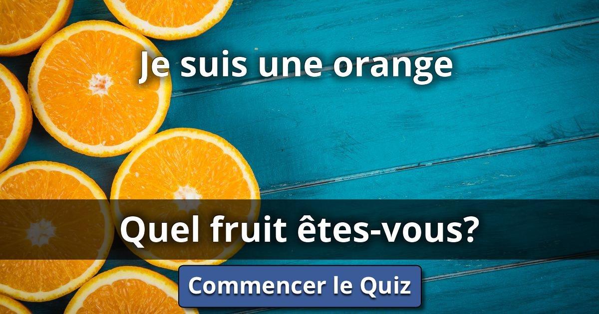 Je suis une orange quel fruit tes vous lusorlab quizzes - Quel dormeur etes vous ...