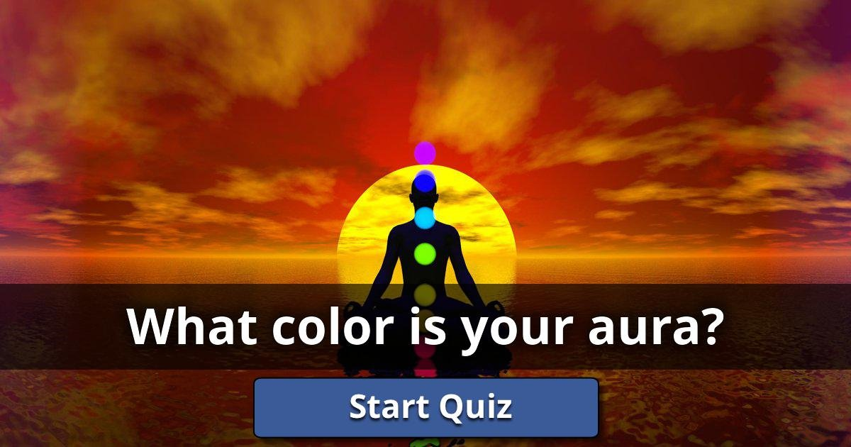 What Color Is Your Aura?   Lusorlab Quizzes