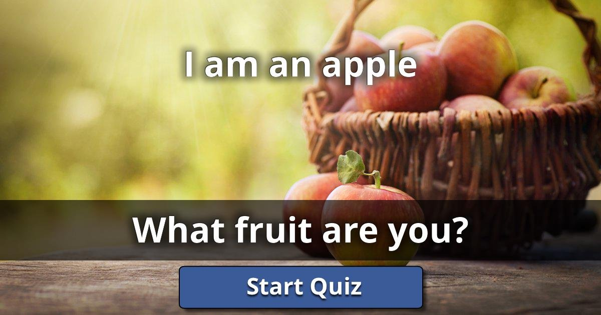 i am an apple what fruit are you lusorlab quizzes. Black Bedroom Furniture Sets. Home Design Ideas